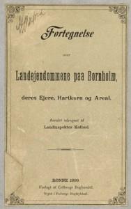 1899 Gårdregister forside