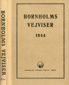 1944 Bornholms vejviser forsider