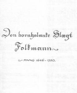 Bornholmske Folkmann
