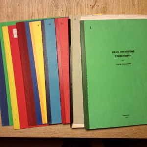 Louise Skovgaards skrifter