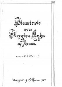 Slægten Kyhn af Rønne- K Thorsen 1945 1