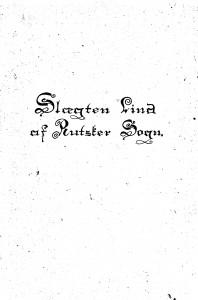 Slægten Lind af Rutsker Sogn - af K Thorsen 1