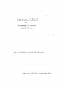 Slægten PIHL fra Pilegaardene nem 200 Aar- af K Thorsen 1929 1