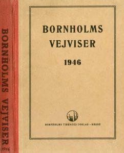 1946 Bornholms vejviserforsider