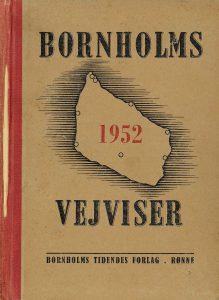 1952 Bornholms Vejvise forside_Side_1
