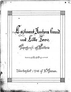 Løjtnant Anchers Gaard ved Lille Torv  1