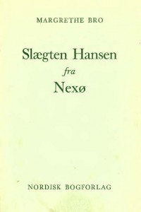Slægten Hansen fra Nexøomslag_Side_1