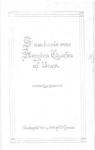 Stamtavle over Slægten Thuesen af Nexø 1
