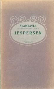 Stamtavle over den Bornholmske Familie Jespersen 1909 forside
